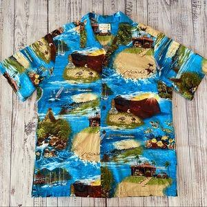Sew Special Maui Authentic Hawaiian Shirt Size XL.